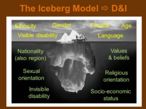 Diversity and Inclusion Iceberg Model